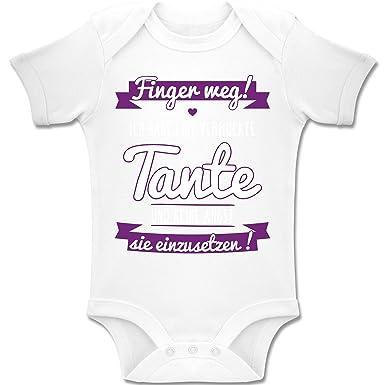 Shirtracer Spruche Baby Ich Habe Eine Verruckte Tante Lila Baby