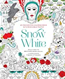 Snow White: An Enchanting Coloring Book & Classic Tale, With Removable Poster