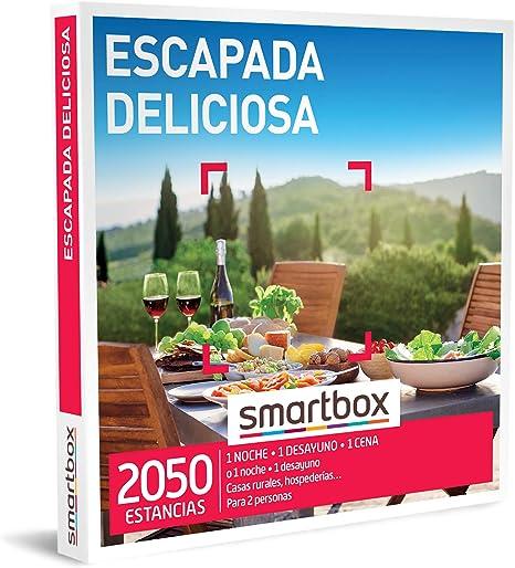 SMARTBOX - Caja Regalo - Escapada Deliciosa - Idea de Regalo - 1 ...