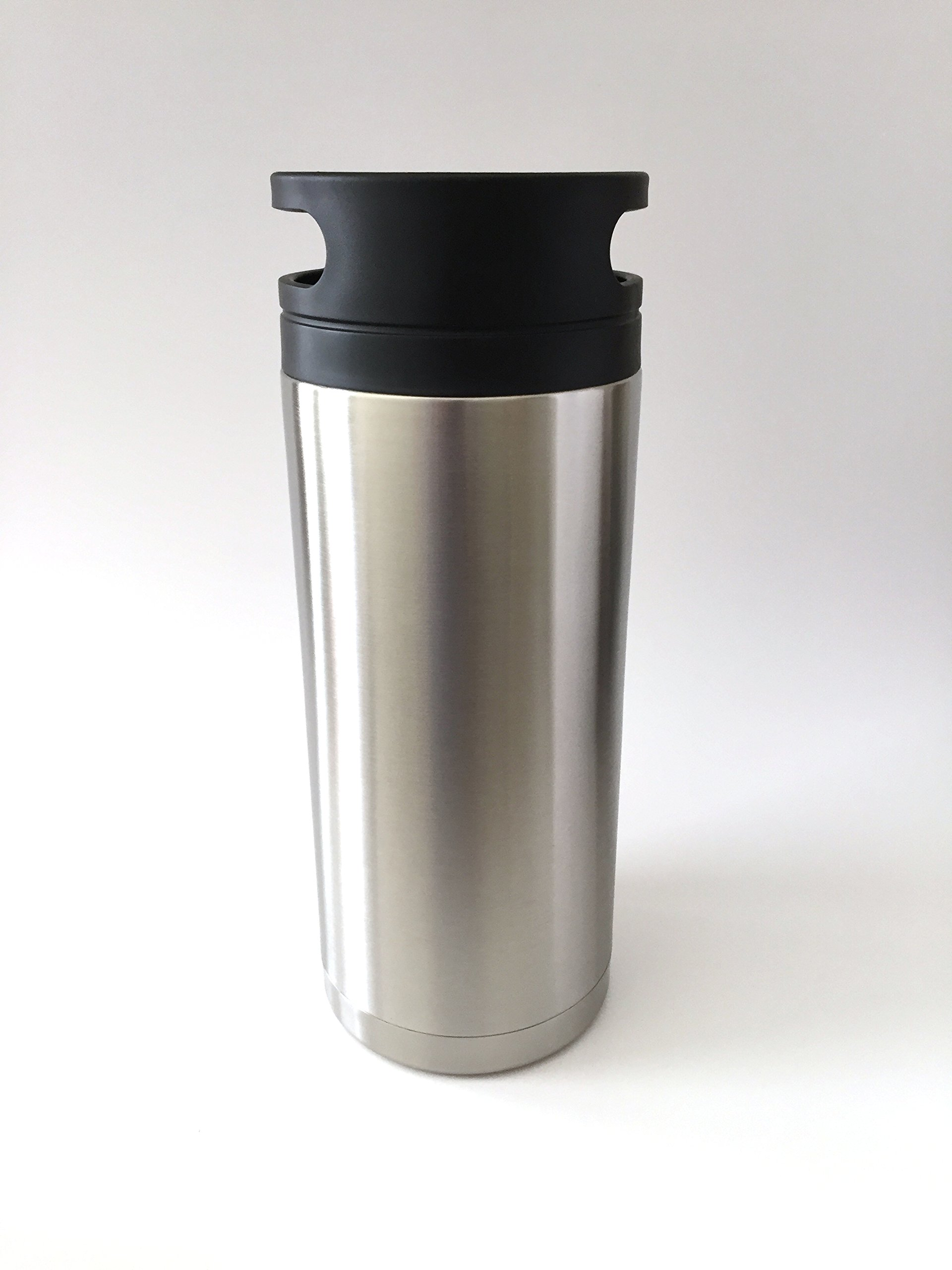 VIP Growler TM 60 oz Insulated Double Walled Stainless Steel Growler - Patent Pending-8 For the Price of 7