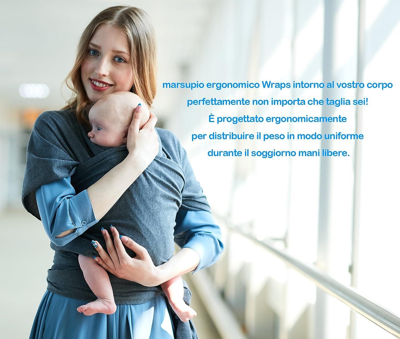 Écharpe de Portage Bébé Sling Été Tissu de coton complet bébé de haute  qualité pour nouveau f83bef24adf