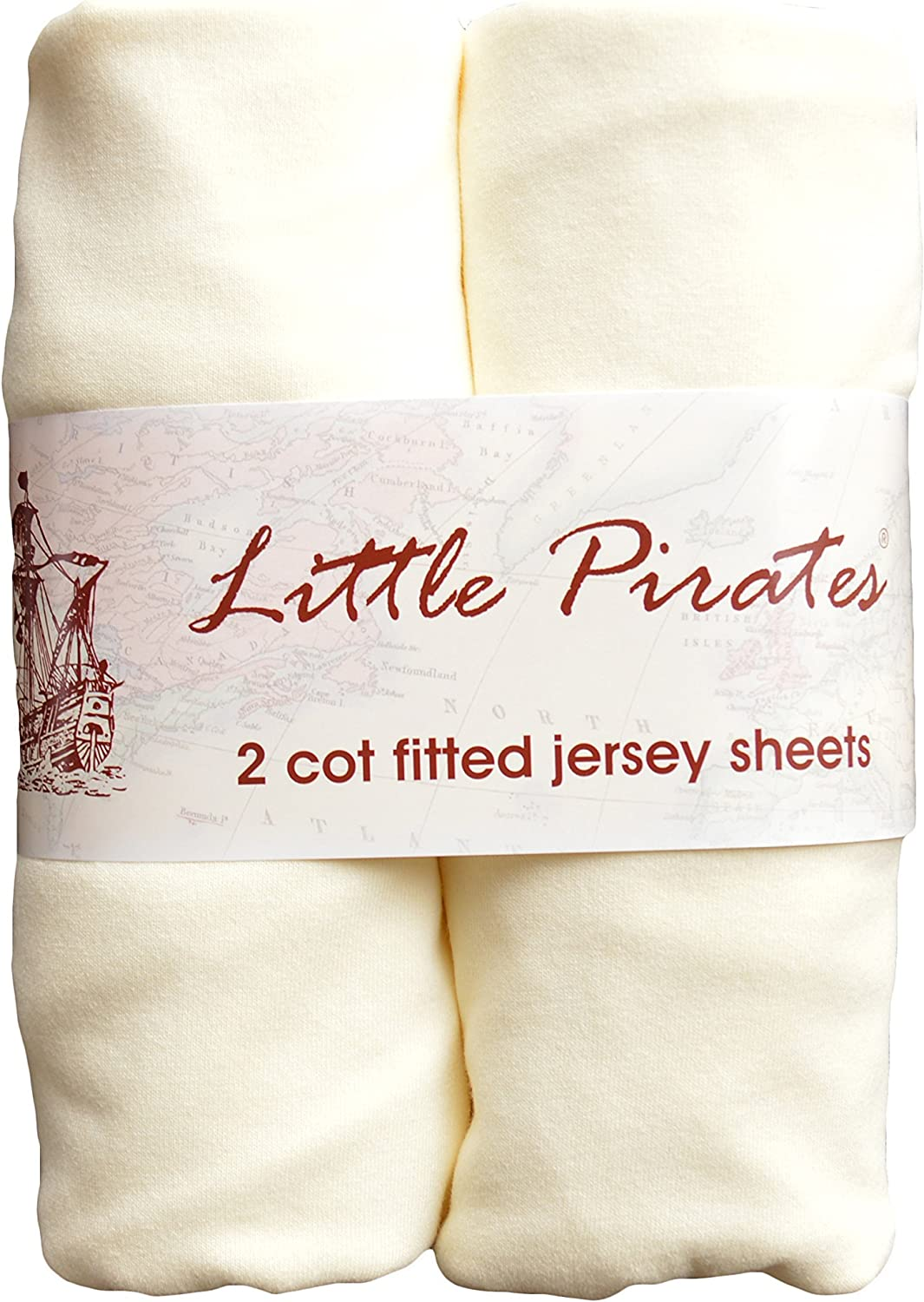 2 x Baby Cot Fitted Sheet 60x120 100/% Jersey Knit Cotton Blue