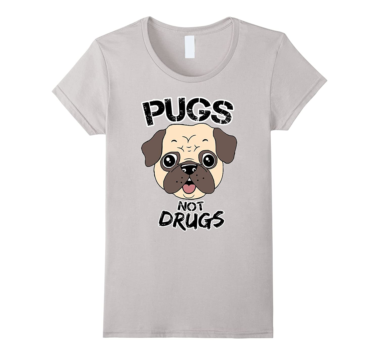 Pugs Not Drugs Dog LoversTee Shirt