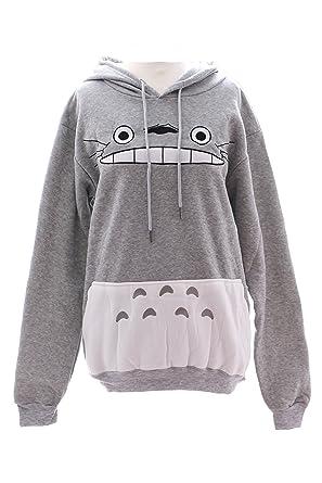 Kawaii-Story TA de 35 Mi Vecino Totoro Gris Grey Cosplay Sudadera con Capucha Chaqueta Sudadera: Amazon.es: Ropa y accesorios