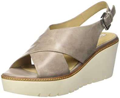 geox outlet, Mujer Sandalias Geox DOMEZIA A Gris, geox