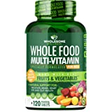 Whole Food Multivitamin for Men - Natural Multi Vitamins, Minerals, Organic Extracts - Vegan Vegetarian - Best for Daily…