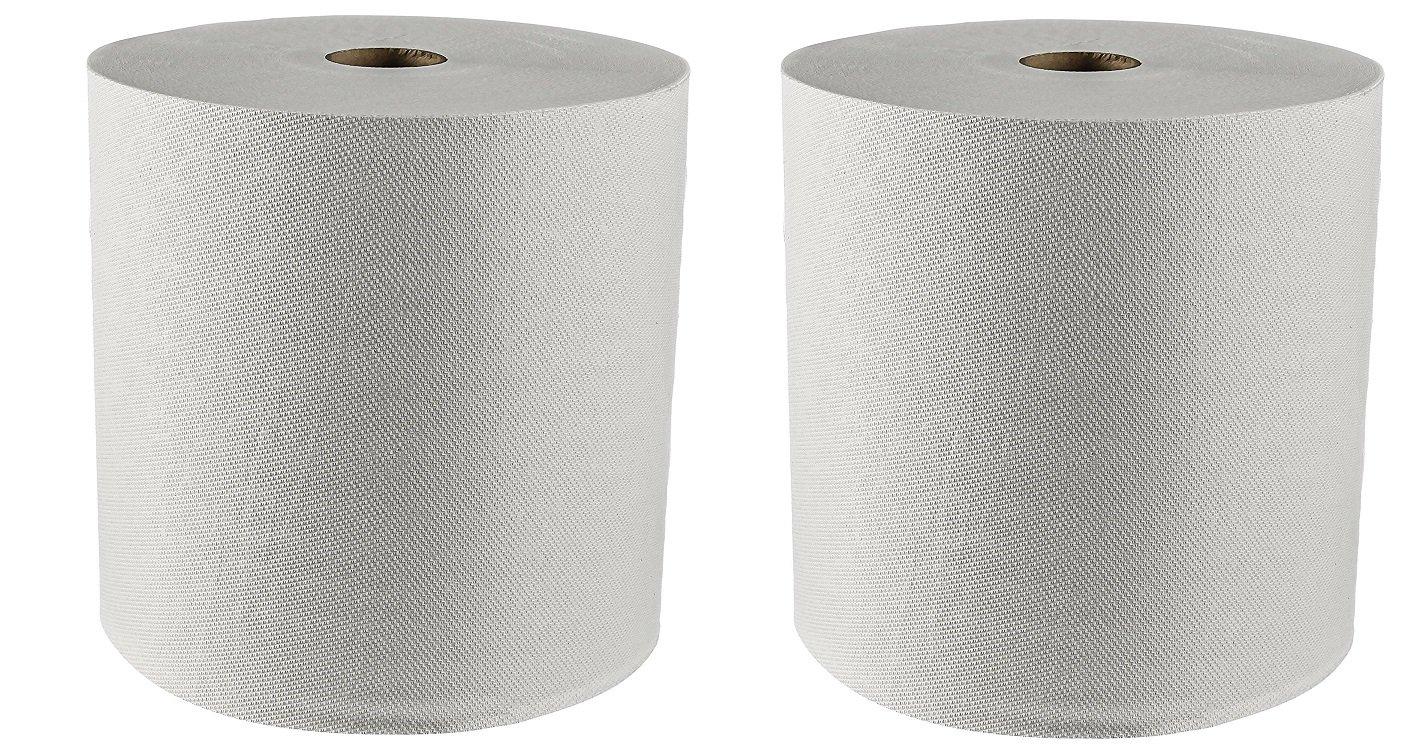 Kleenex duro toallas de papel en rollo (01080) con Premium absorbencia bolsillos, blanco, 12 Rolls/Case, 5.100 pies: Amazon.es: Hogar