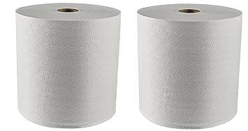 Kleenex duro toallas de papel en rollo (01080) con Premium absorbencia bolsillos, blanco