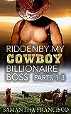 Ridden By My Cowboy Billionaire Boss, Parts 1-3 (Gay BDSM Love Stories Book 11)