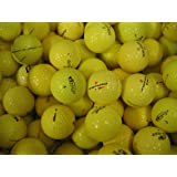 50 Assorted Yellow AAA Grade Golf Balls - Lakeballs