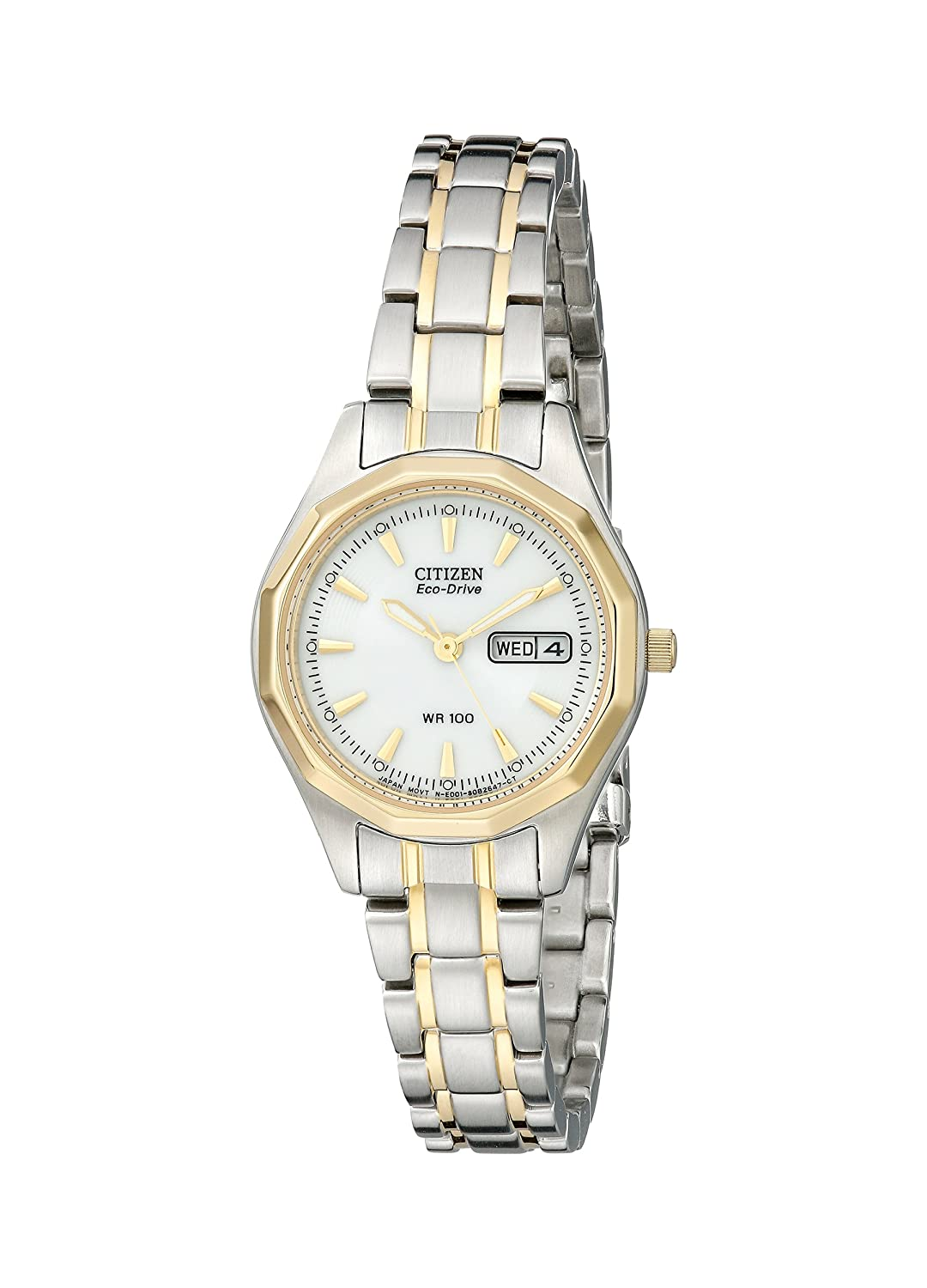 Amazon.com: Citizen Women\'s EW3144-51A Eco-Drive Sport Two-Tone ...