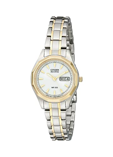 Citizen Women s Eco-Drive Two-Tone Stainless Steel Watch