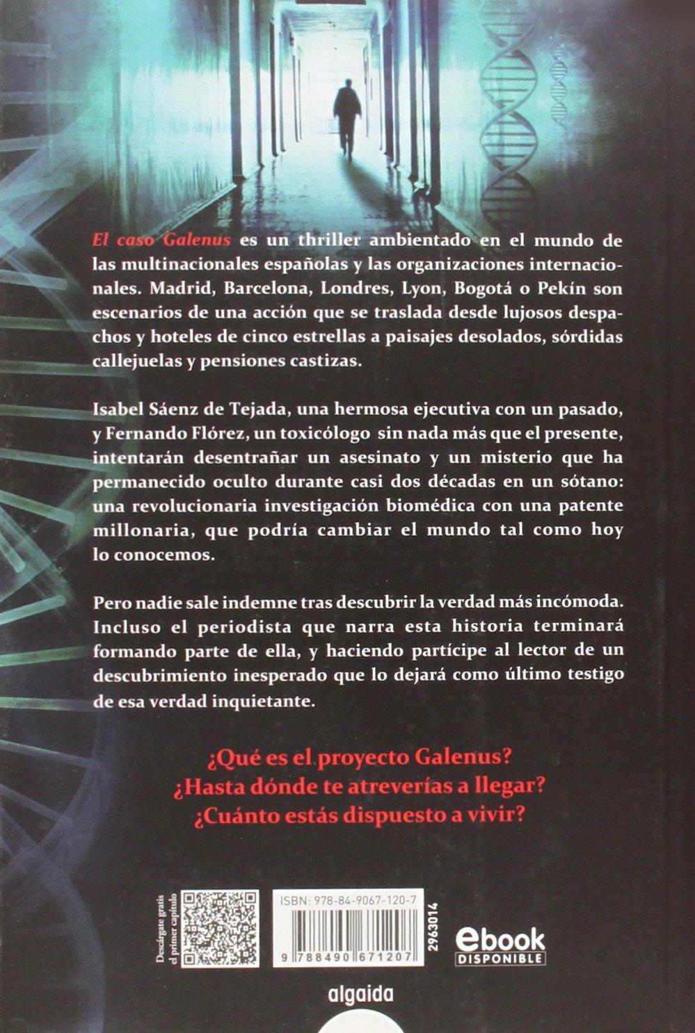 El caso Galenus Algaida Literaria - Algaida Narrativa: Amazon.es ...