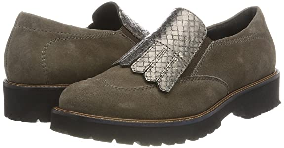 SemlerElena - Mocasines Mujer, Color marrón, Talla 41 1/3: Amazon.es: Zapatos y complementos