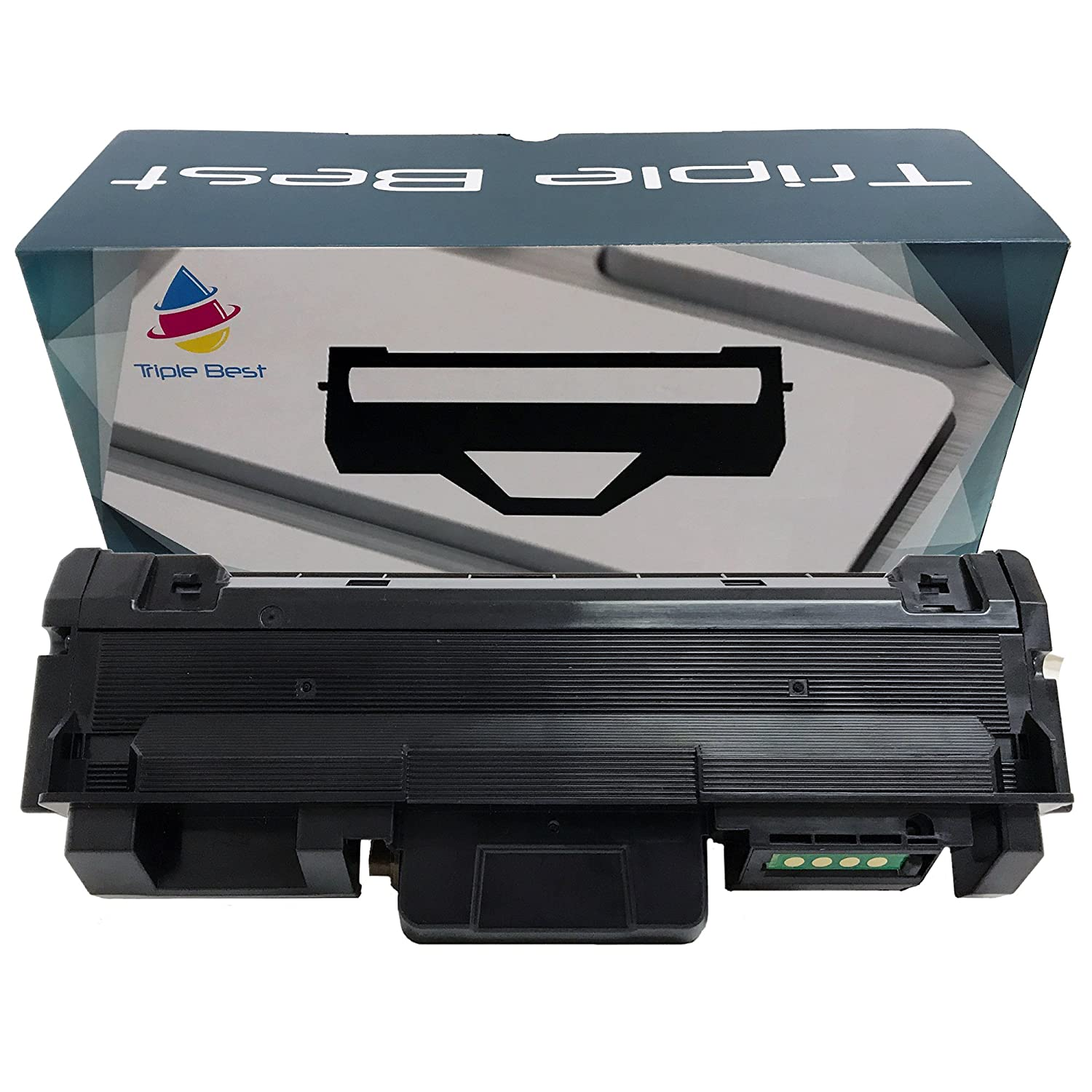 durable modeling Triple Best MLT-D118L Compatible High Yield Black Laser  Toner Cartridge for Samsung Xpress M3015DW M3065FW (4 5ade0492594b7