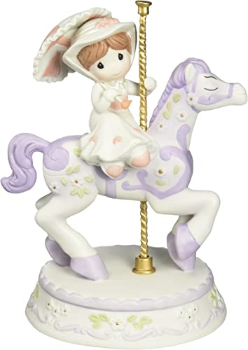 Precious Moments, Disney Showcase Collection, It s A Most Delightful Day, Bisque Porcelain Figurine, 133011