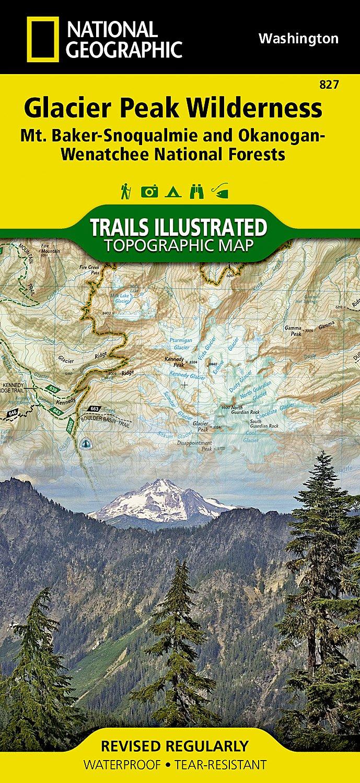Glacier PeakWildernessMt BakerSnoqualmie OkanoganWenatchee - Us map baker peak