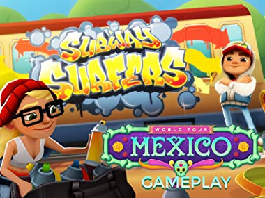 Amazon.com: Watch Clip: Subway Surfers in Mexico Gameplay ...