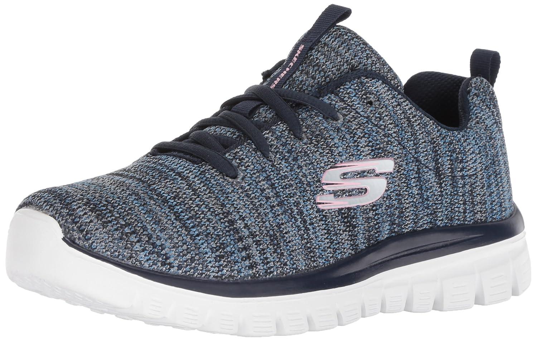 b8c27bd977e20 Skechers Women s Graceful-Twisted Fortune Sneaker Casual Comfort ...