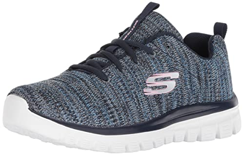Skechers Sneaker 12614 Gracefu Twisted Fortune, Color Navy