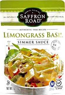 product image for Saffron Road Lemongrass Basil Simmer Sauce 7 oz each (6 Items Per Order)