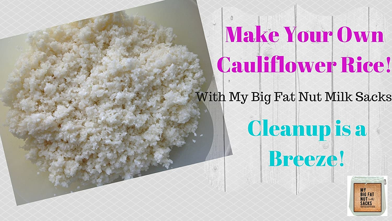 BlankIt! Concepts My Big Fat sacos de leche de nueces 2 paquetes ...