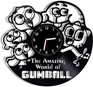 The Amazing World of Gumball Vinyl Wall Clock 12