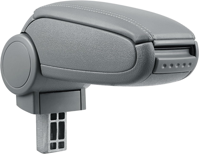 pro.tec imitation leather cover // black Car Armrest Perfekt Fit Centre Console inkl Storage Box
