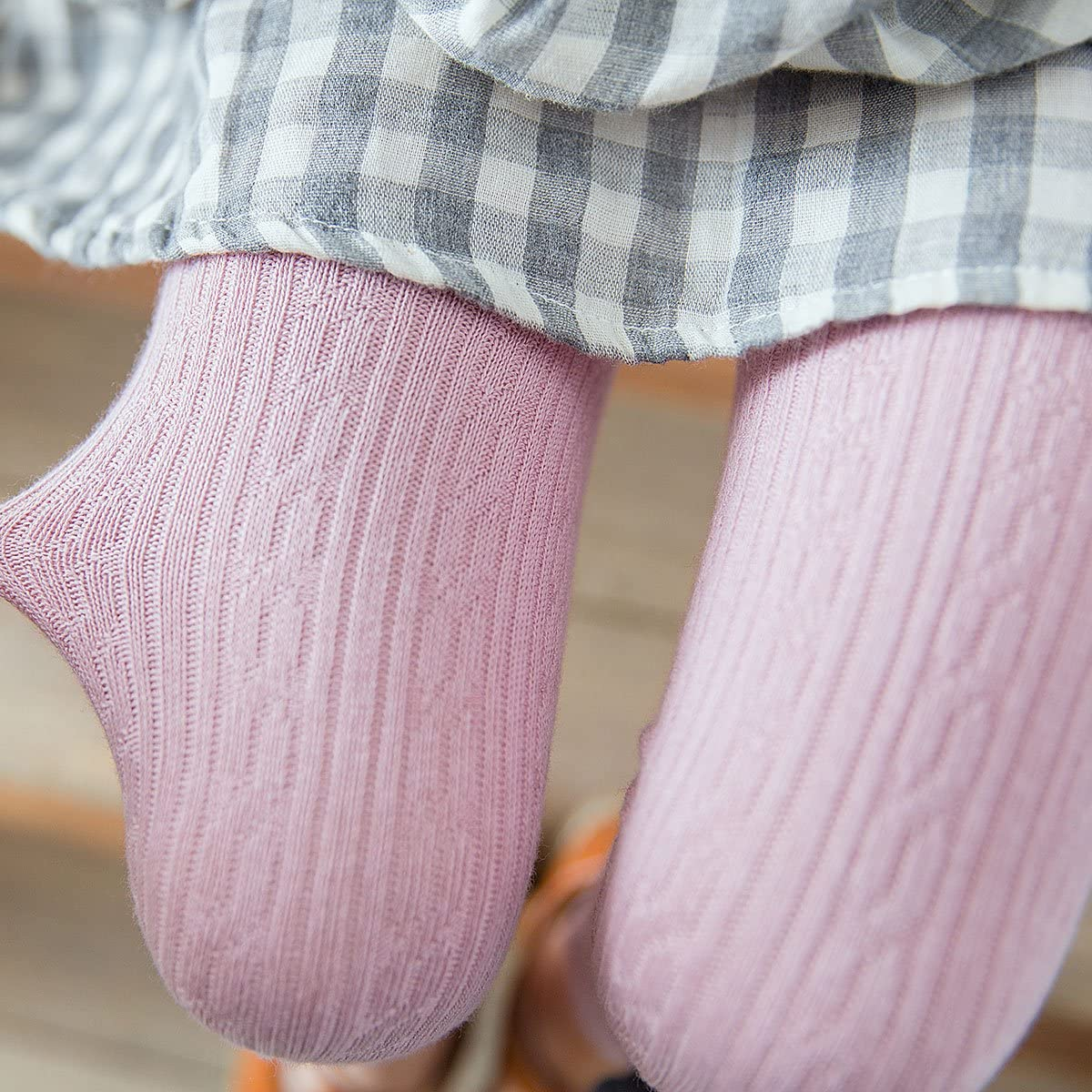 Rallytan Girls Leggings Cute Cat Pattern Tight Pants Stretch Footless Pantyhose