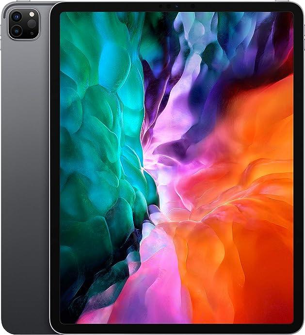 2020年新版 Apple 苹果 iPad Pro 12.9英寸平板电脑(128G WLAN版/全面屏/A12Z/Face ID)深空灰色 下单折后$947.14 海淘转运到手约¥6863