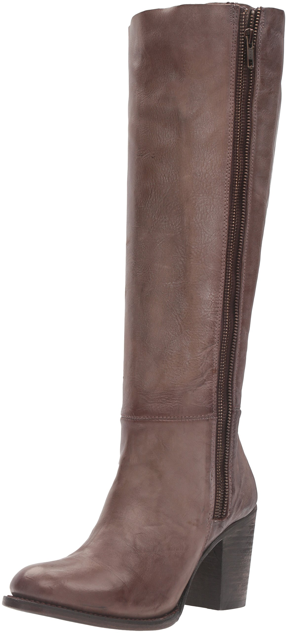 Freebird Women's Beau Riding Boot, Stone, 7 M US by Freebird by Steven