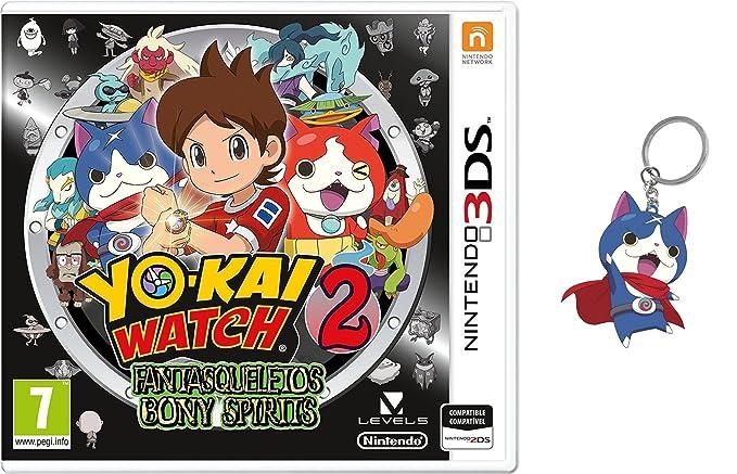 3DS Yo-Kai Watch 2: Fantasqueletos + Llavero: Amazon.es ...