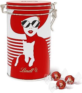 Oferta amazon: Lindt Lindor Lata de Bombones de Chocolate con Leche - Aprox. 18 Bombones, 225g