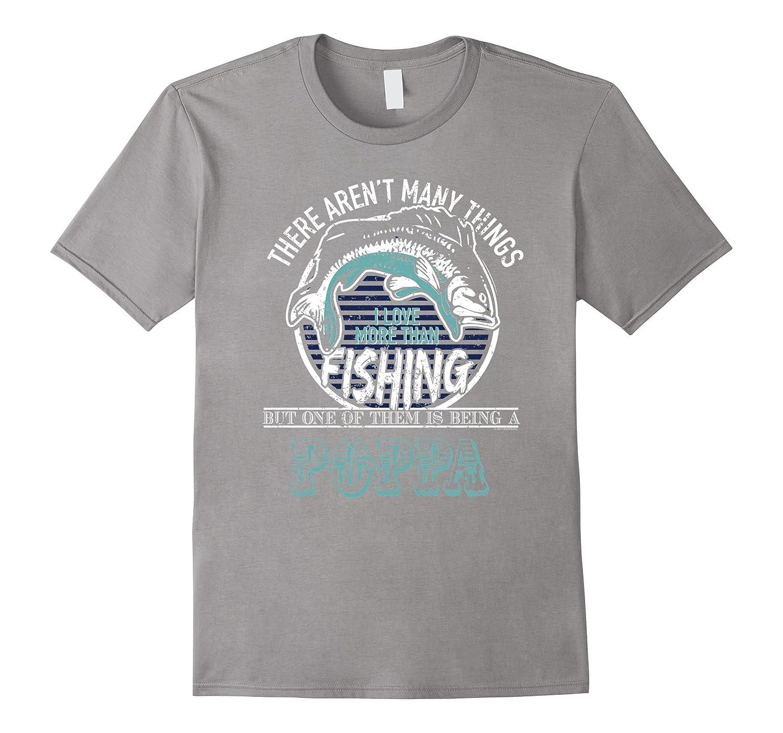 c87b2fd0a3 Mens Fishing And Being Poppa Funny Bass Fishing T Shirt-TH - TEEHELEN