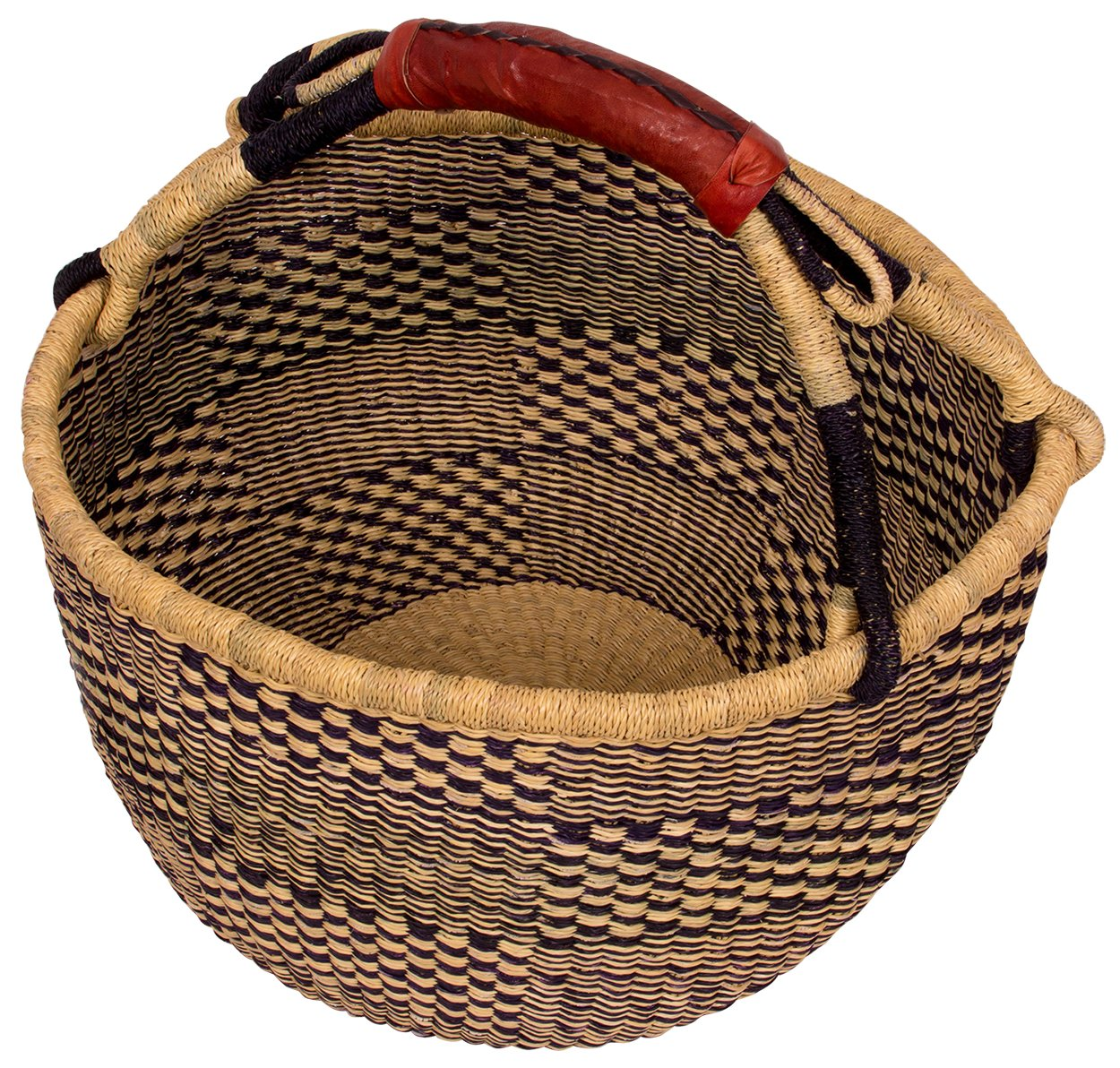 ad4f89a795 Amazon.com  AFRICAN MARKET BASKET African Round Basket