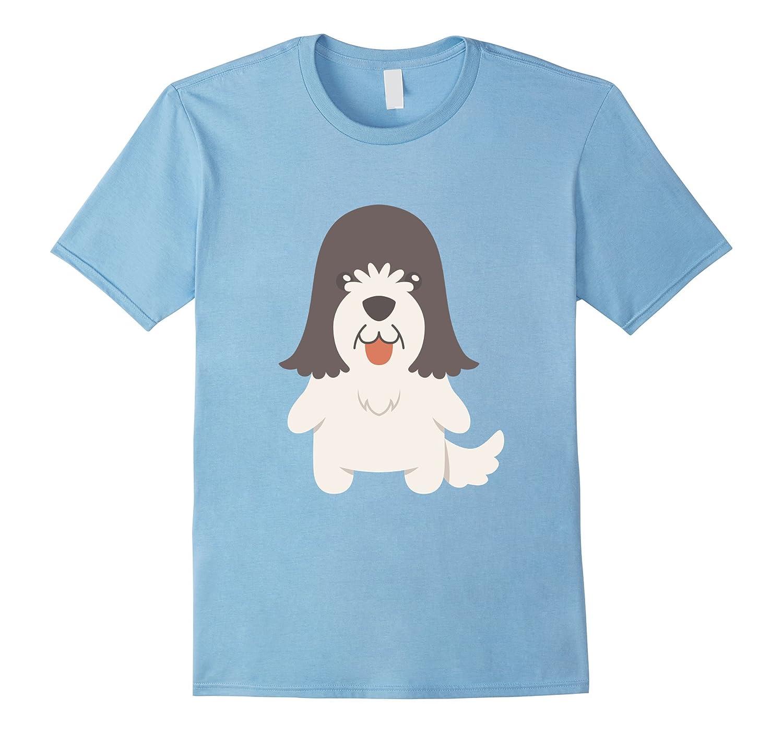 Schapendoes T-Shirt Dutch Sheepdog Tee Shirt-CD