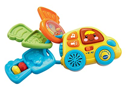 Amazon Com Vtech Beep Go Baby Keys Toys Games