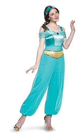 Amazon disney womens jasmine deluxe adult costume clothing disney womens jasmine deluxe adult costume turquoise small solutioingenieria Images