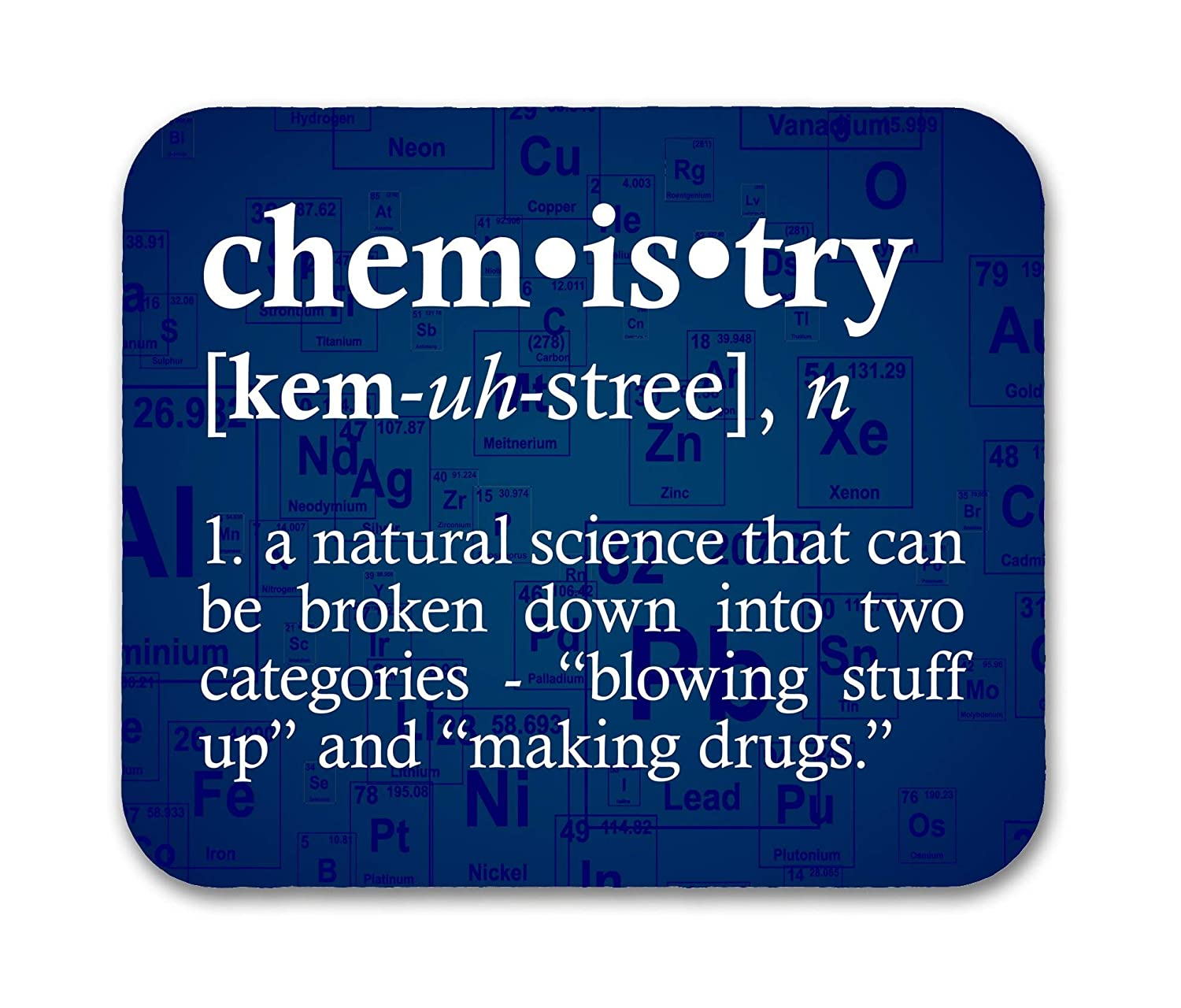 B01HLDPWUQ Chemistry Definition Funny Mouse Pad 81SGk5HLTML