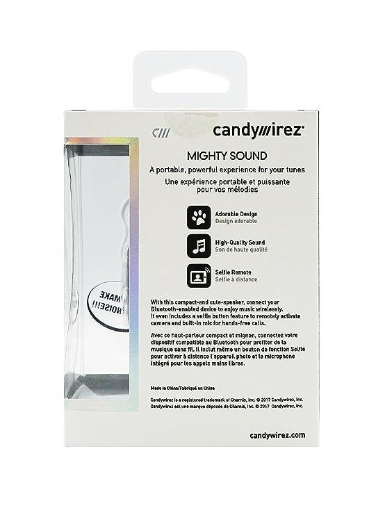 candywirez Mighty Sound Bluetooth Speaker with Selfie Button - Puppy