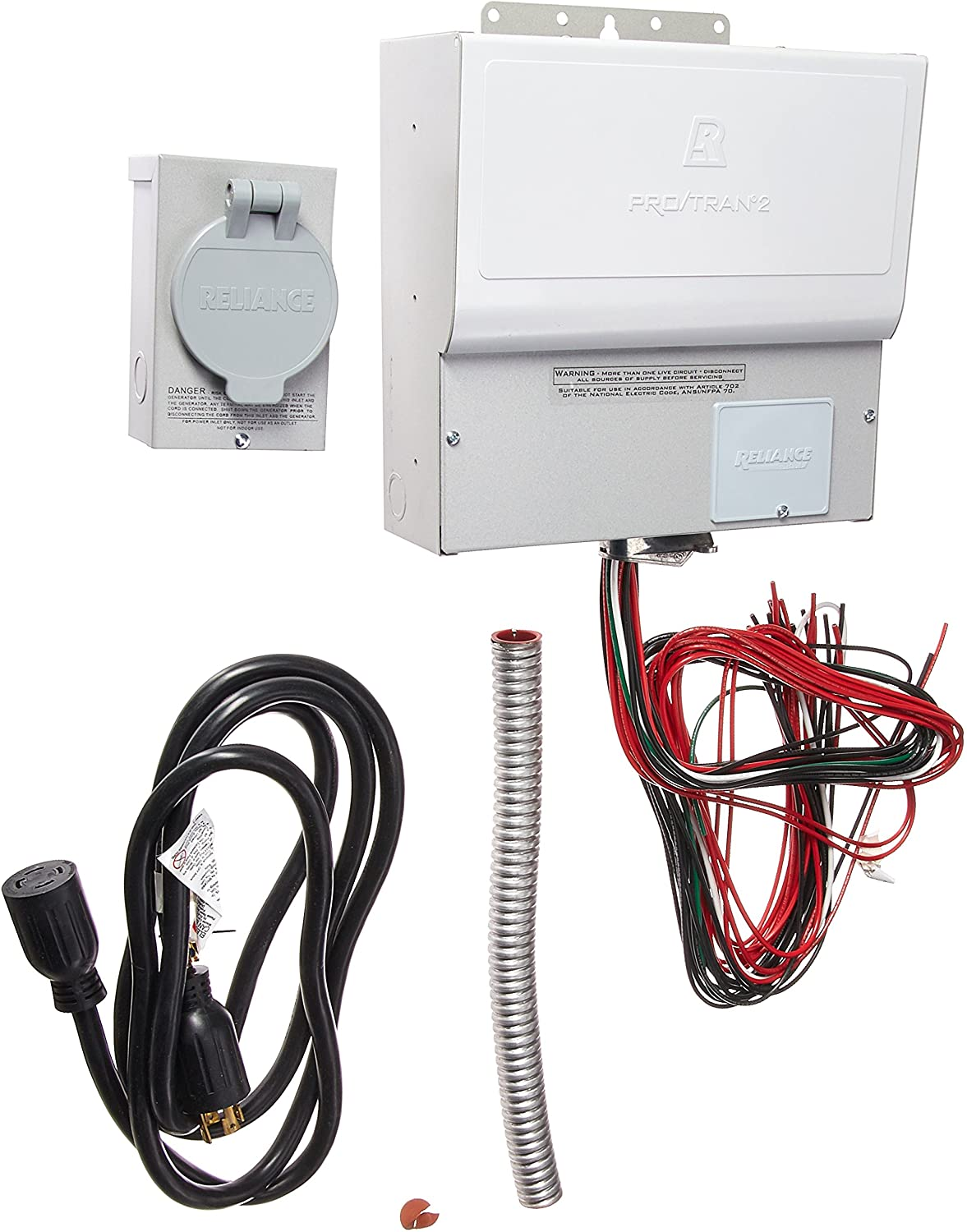 Reliance Controls Panel//Link Transfer Switch TRB1210DR