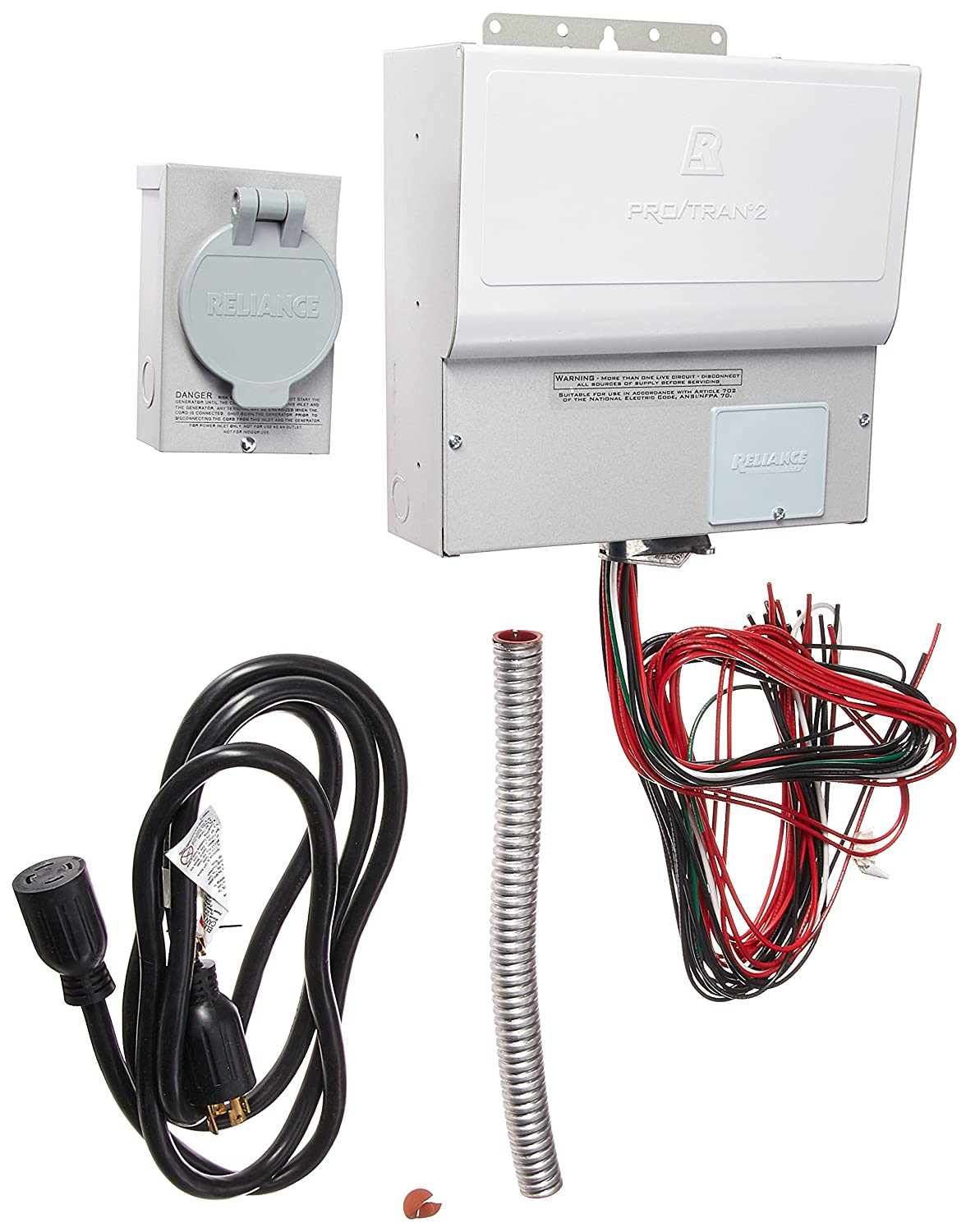 Reliance Controls 310CRK 10 Circuit Transfer Switch Kit