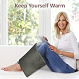 """XL Heating Pad - Electric Heating Pad for Moist and Dry Heat Therapy - Fast Neck/Shoulder/Back Pain Relief at Home - 12"""" x 24"""", GENIANI"""