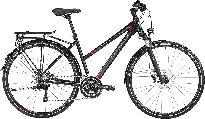 Bergamont – Bicicleta de trekking Horizon 9.0 Mujer Negro/Gris ...