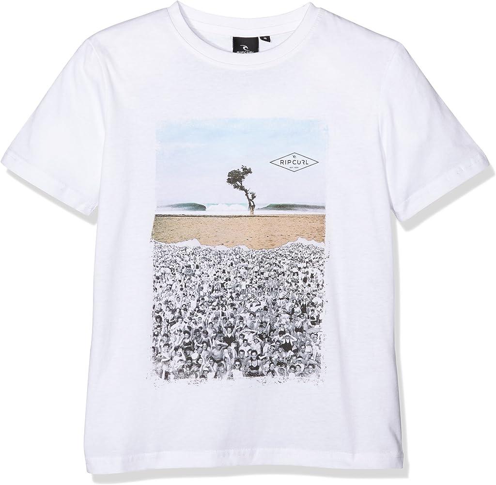 RIP CURL Good Day Bad Day – Camiseta para niño Blanco Blanco Talla:8 años (Talla del Fabricante: 8): Amazon.es: Ropa y accesorios