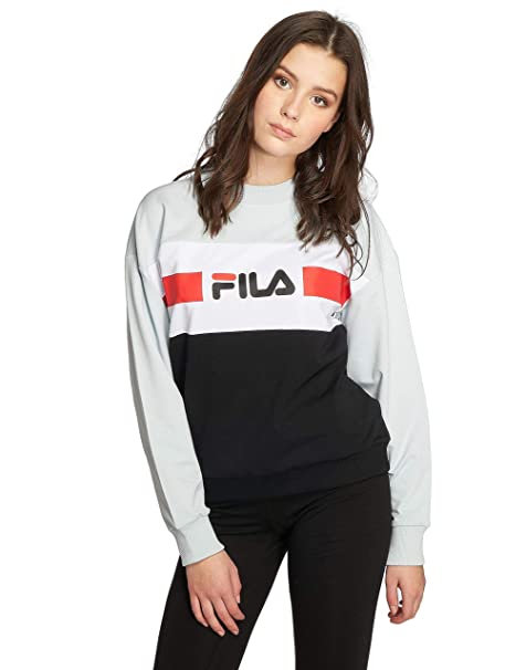 Fila Angela Crew Sweat, Felpa - XL: Amazon.it: Abbigliamento
