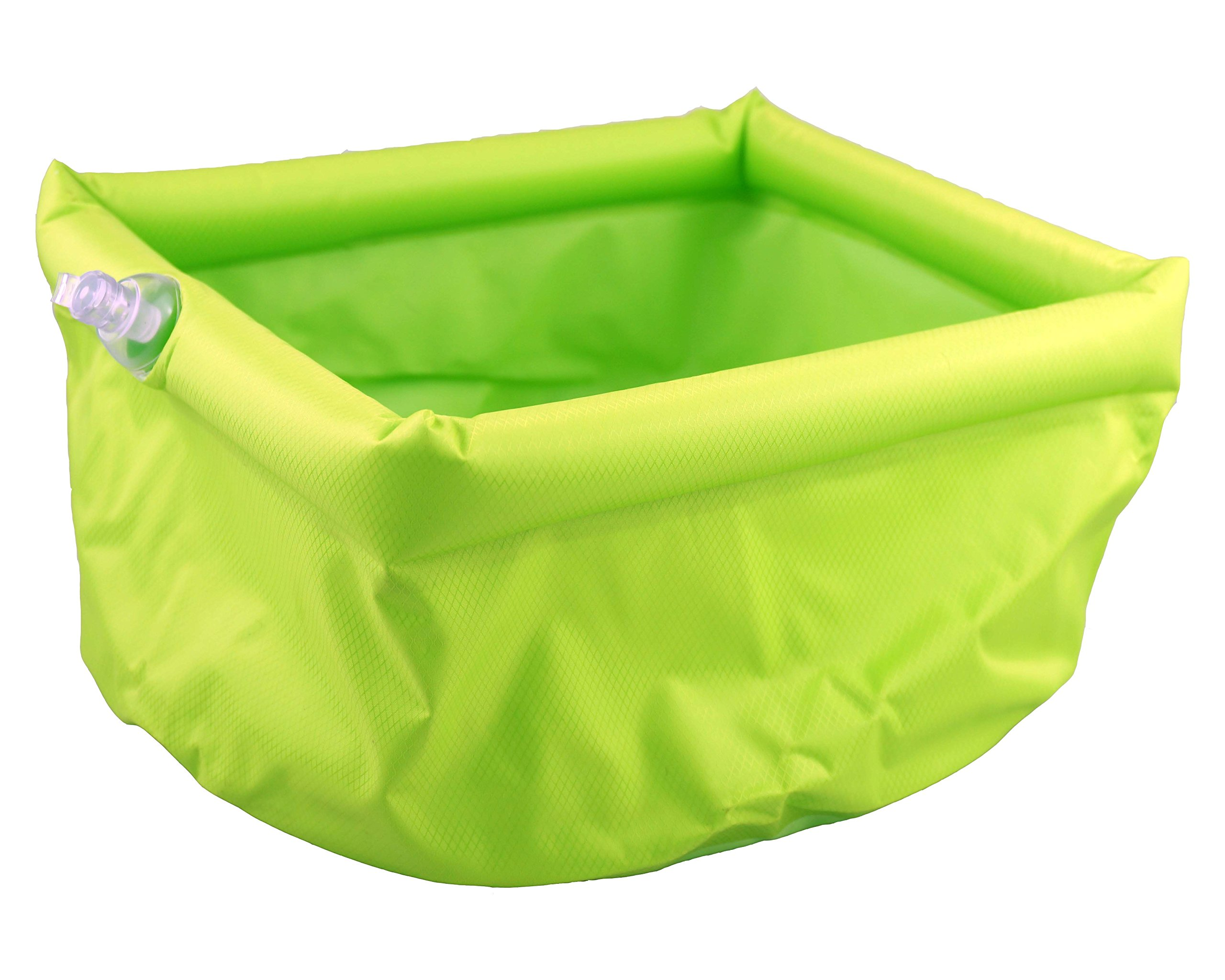 SE OD-WS4LT Inflatable Camping Sink with 5L Capacity, Green by SE
