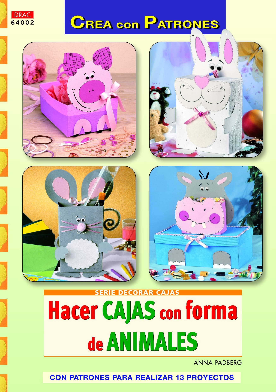 Hacer cajas con forma de animales Cp - Serie Decorar Cajas: Amazon ...