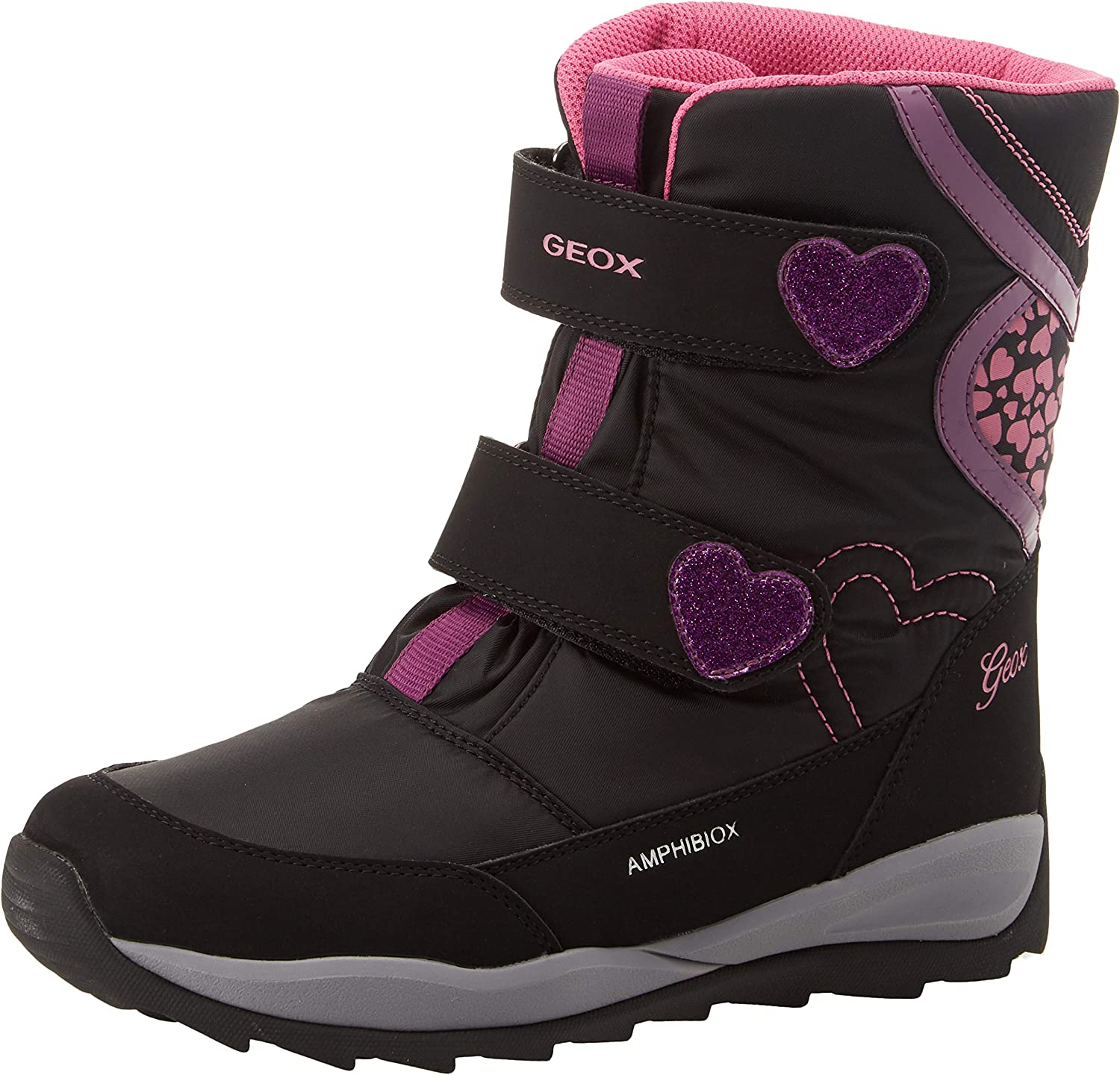 Kolla på erkända varumärken grossist online Amazon.com | Geox Kids' Orizont Girl ABX 10 Waterproof & Insulated ...
