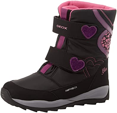 1b0c2bf3cc Geox J Orizont B Girl ABX E Snow Boots: Amazon.co.uk: Shoes & Bags